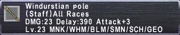 Windurstian Pole