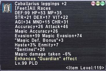 Caballarius Leggings +2
