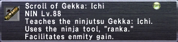 Gekka: Ichi