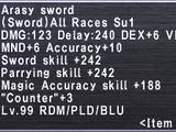 Arasy Sword