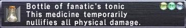Fanatic's Tonic