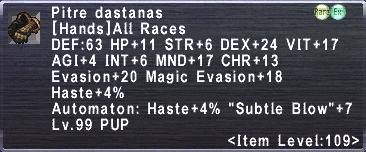 Pitre Dastanas
