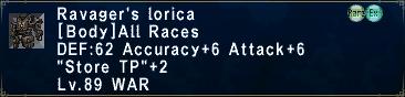 Ravager's Lorica