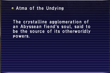 Atma of the Undying