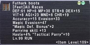 Futhark Boots