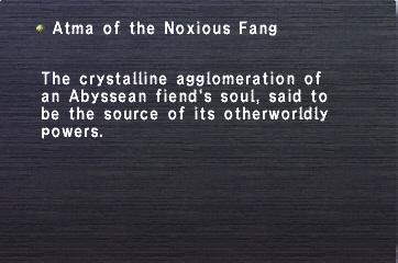 Atma of the Noxious Fang
