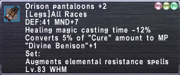 Orison Pantaloons +2