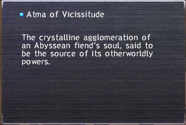 Atma of Vicissitude