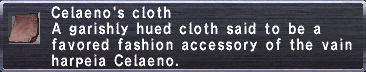 Celaeno's Cloth