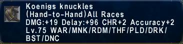 Koenigs Knuckles