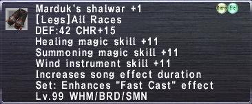 Marduk's Shalwar +1