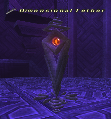 Dimensional Tether