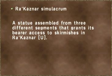 Ra'Kaznar simulacrum