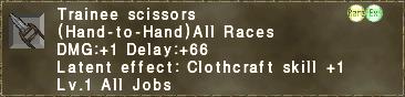 Trainee Scissors