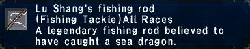 Lu Shang's Fishing Rod