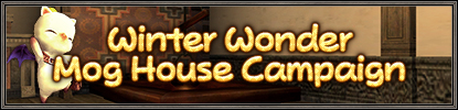 Winter Wonder Mog House Campaign