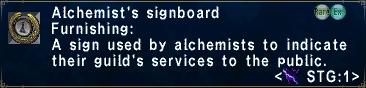 Alchemist's Signboard