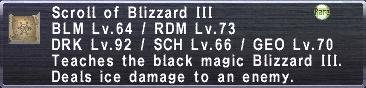 Blizzard III