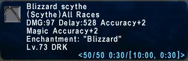 Blizzard Scythe