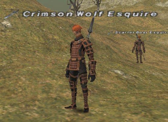 Crimson Wolf Esquire