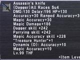 Assassin's Knife