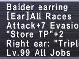 Balder Earring