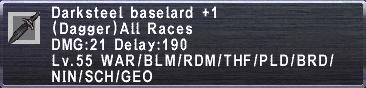 Darksteel Baselard +1