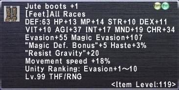 Jute Boots +1
