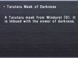 Tarutaru Mask of Darkness