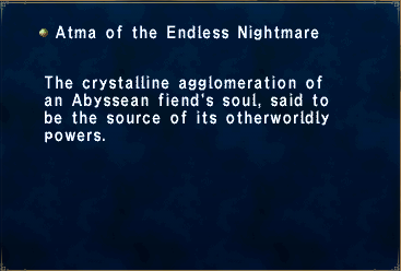 Atma of the Endless Nightmare