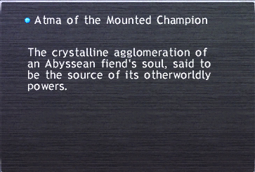 Atma of the Mounted Champion