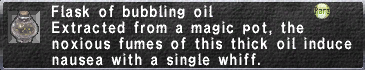 Bubbling Oil