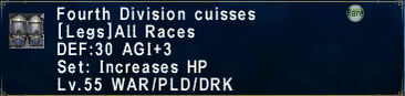 Fourth Division Cuisses