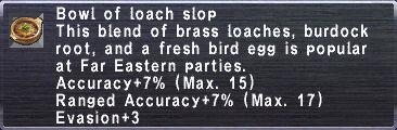 Loach Slop