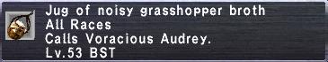 Noisy Grasshopper Broth