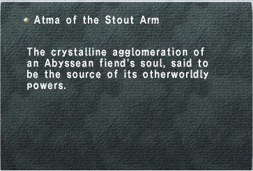 Atma of the Stout Arm