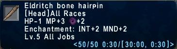 Eldritch Bone Hairpin