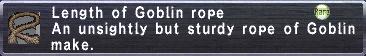 Goblin Rope