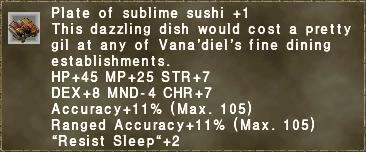 Sublime Sushi +1
