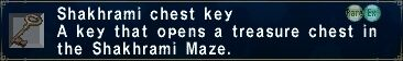 Shakhrami Chest Key