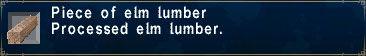 Elm Lumber