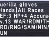 Guerilla Gloves