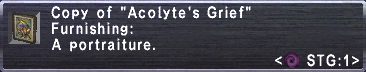 Acolyte's Grief