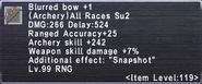 Blurred Bow +1