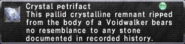 Crystal Petrifact