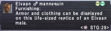 Elvaan M Mannequin