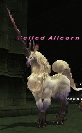 Veiled Alicorn