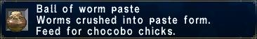 Worm Paste