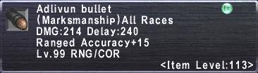 Adlivun Bullet