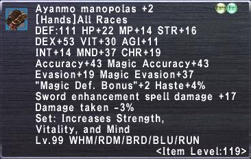 Ayanmo Manopolas +2